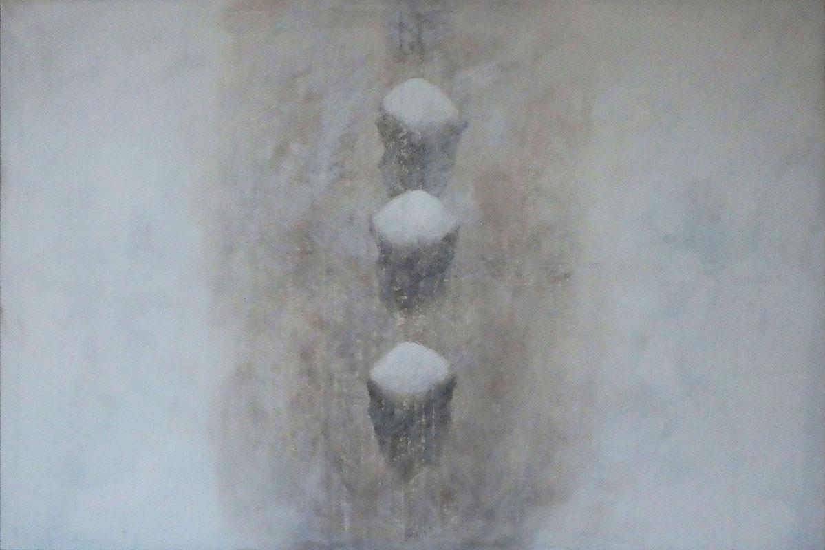 Stones I, 120 x 180 cm.