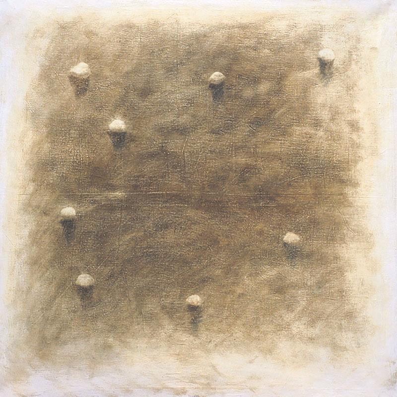 Stones II, 125 x 125 cm.