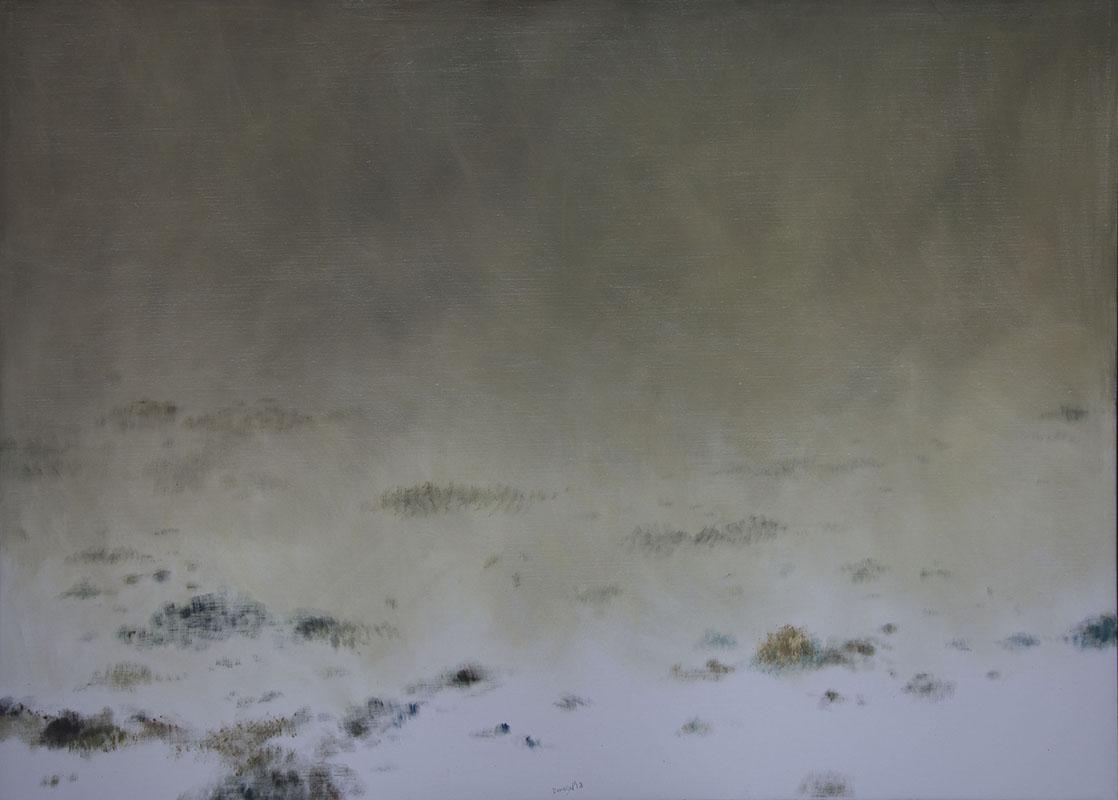 Mlha II, 130 x 180 cm.