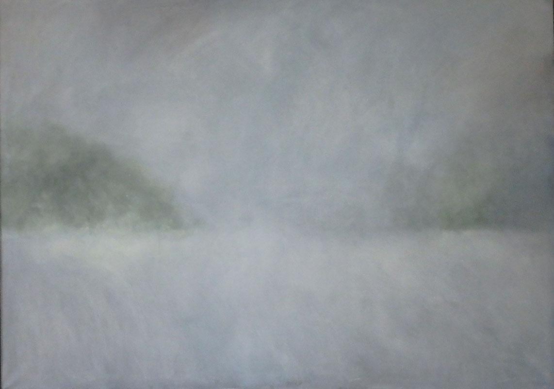 Mlha V, 125 x 180 cm.