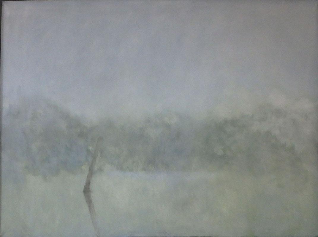 Mlha III, 130 x 180 cm.