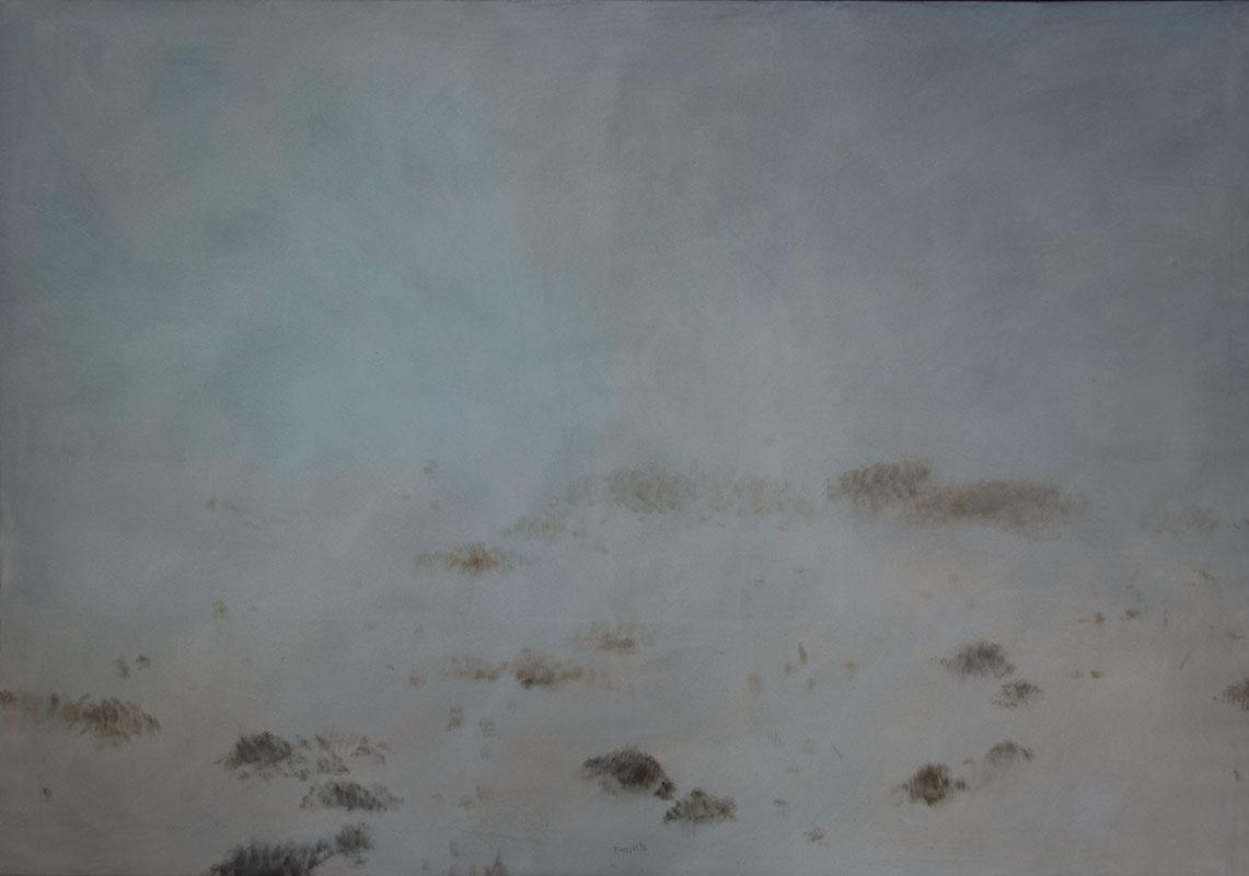Mlha I, 130 x 180 cm.