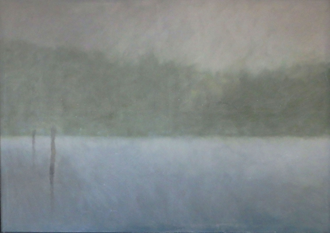Mlha IV, 130 x 180 cm.