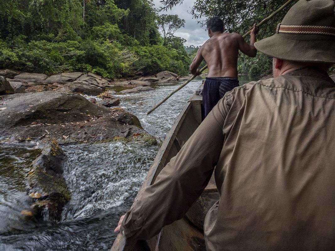 <p>Rio Tabaro (Sierra Maigualida), Venezuela.</p>