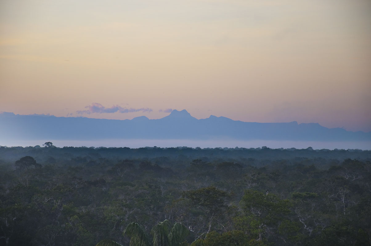 <p>Neblina range from Catipan rock (Rio Yatua), Venezuela.</p>