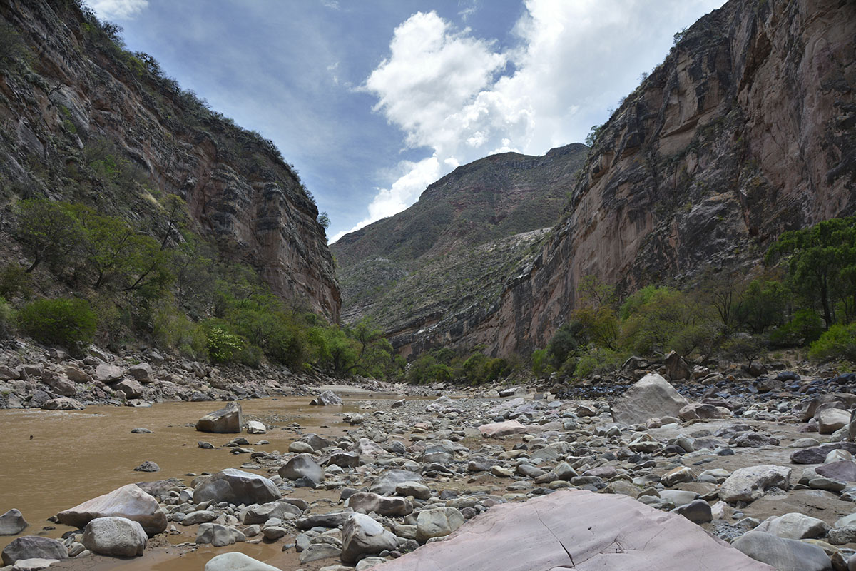 <p>Jalajala canyon in the National Park Torotoro. Andes, Bolivia.</p>