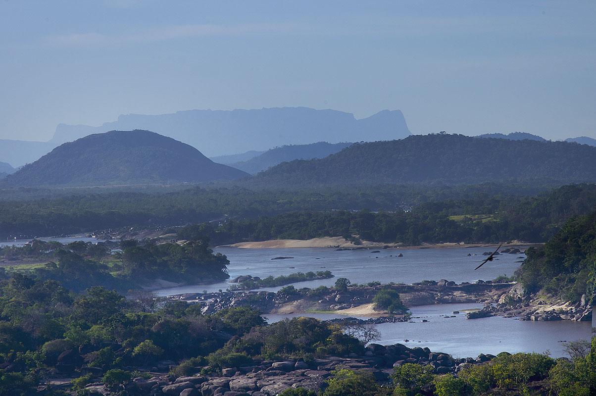 <p>Orinoco (Atures rapids), Venezuela – Colombia.</p>