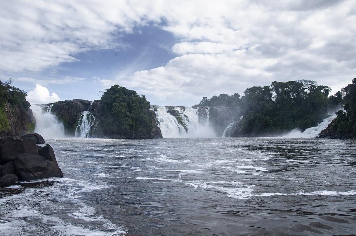 <p>Para waterfalls on Rio Caura. Sierra Maigualida, Venezuela.</p>
