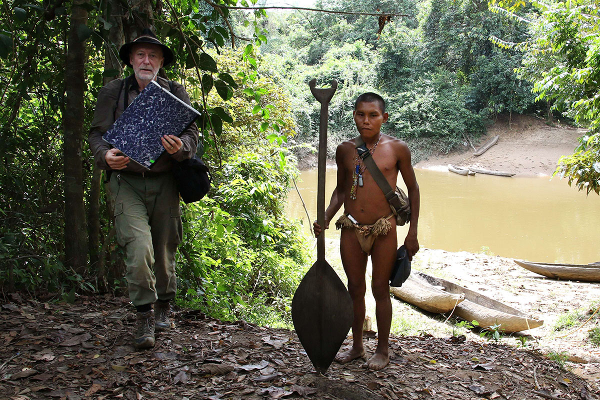 <p>Lino was one of my guides in the vicinity of Hoti community. Sierra Maigualida, Venezuela.</p>